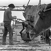Воскресник на заводе ЖБИ, ССО-74,<br>+поиск места расположения лагеря ССО-74 ПМК-20,<br>апрель 1974