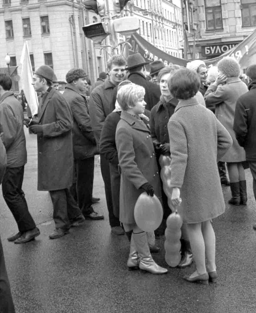 11:1970 <br>На демонстрации 2 курс ФПМ 16