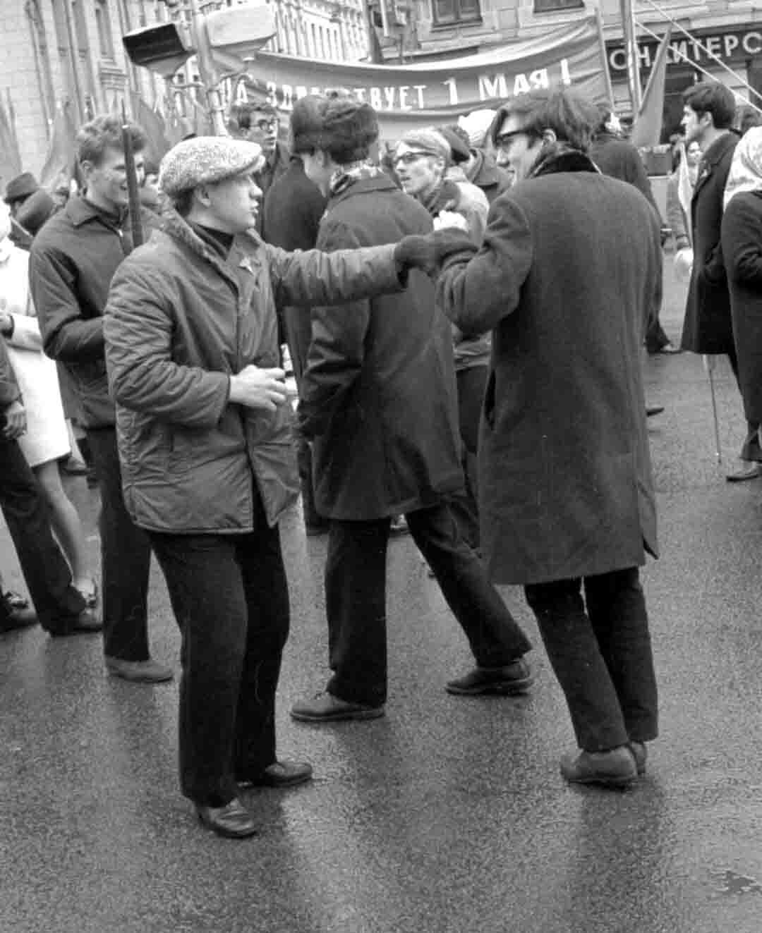 11:1970 <br>На демонстрации 2 курс ФПМ 17
