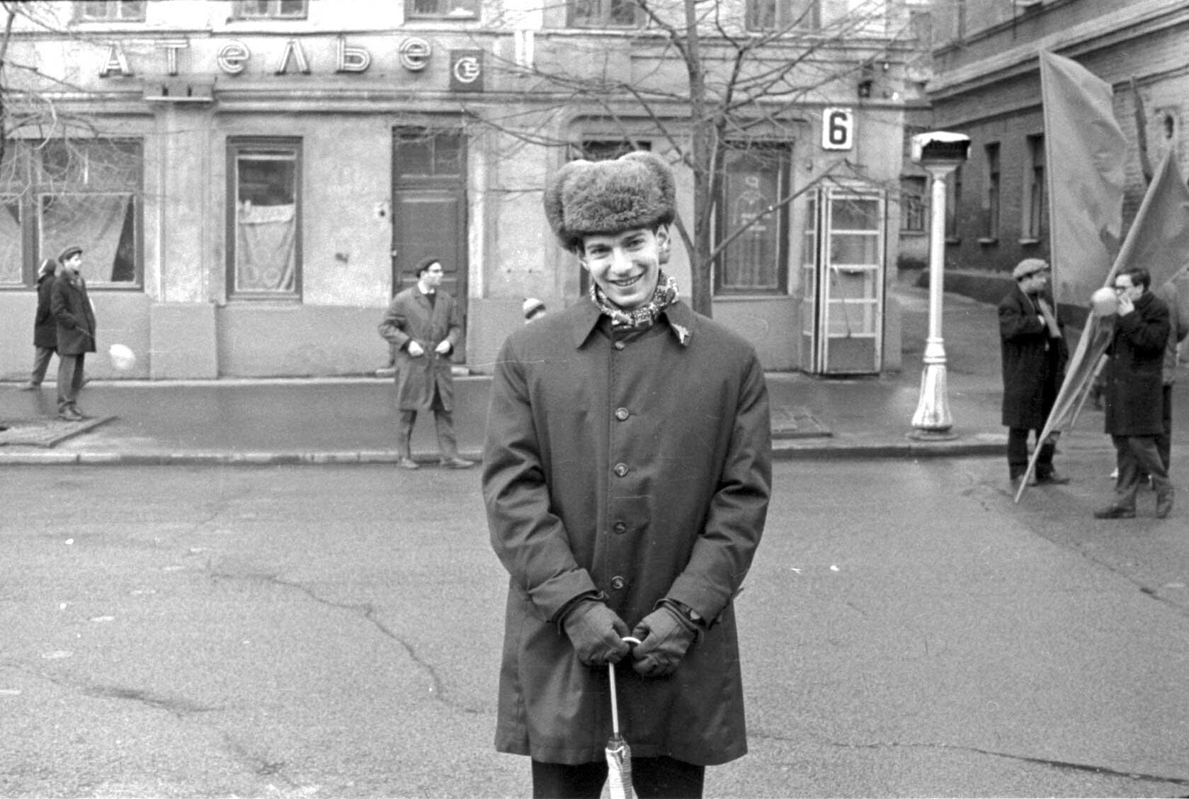 11:1970 <br>На демонстрации 2 курс ФПМ 19
