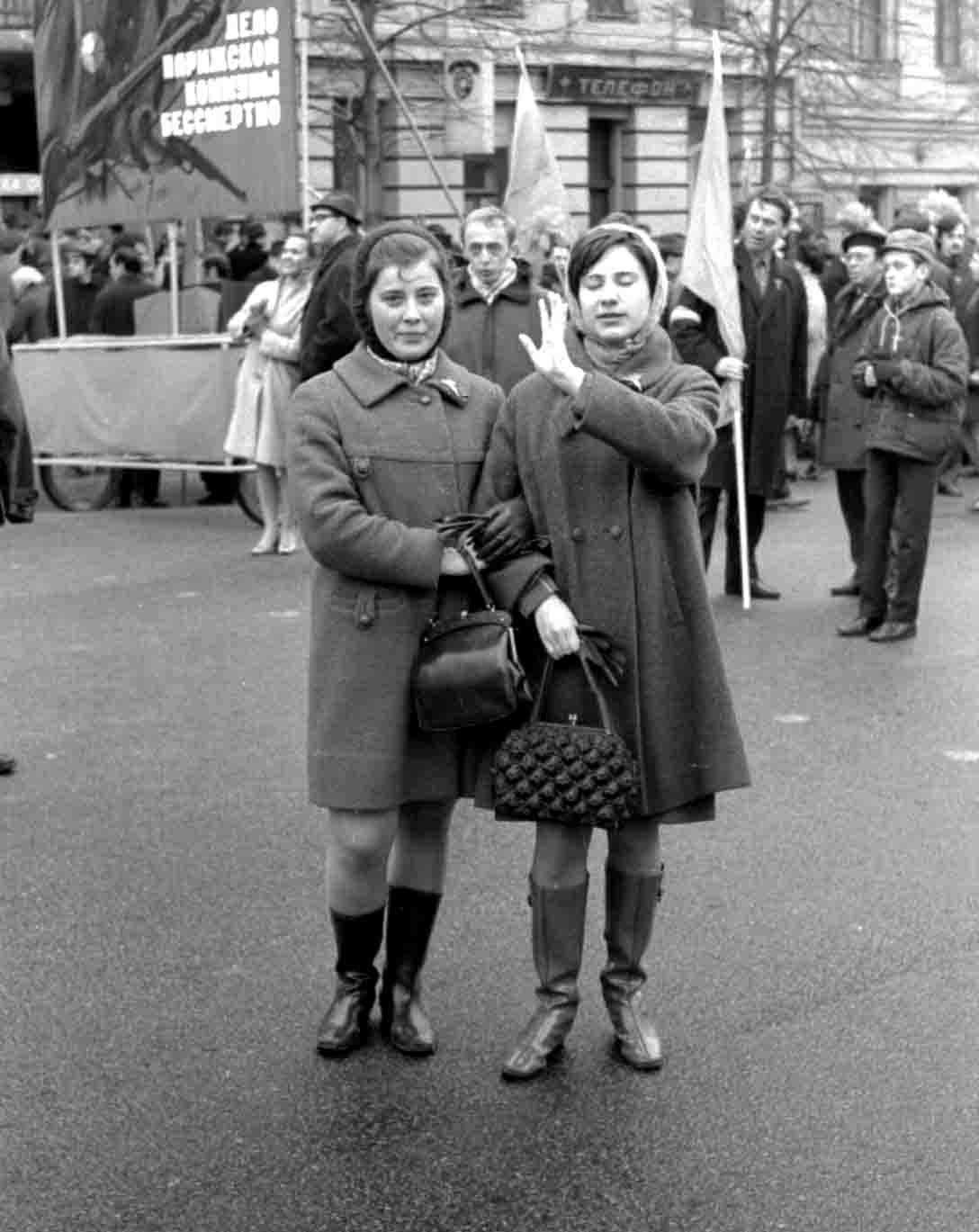 11:1970 <br>На демонстрации 2 курс ФПМ 2