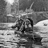 04:1979,1980 <br>Байдарочный поход по р.Каширке