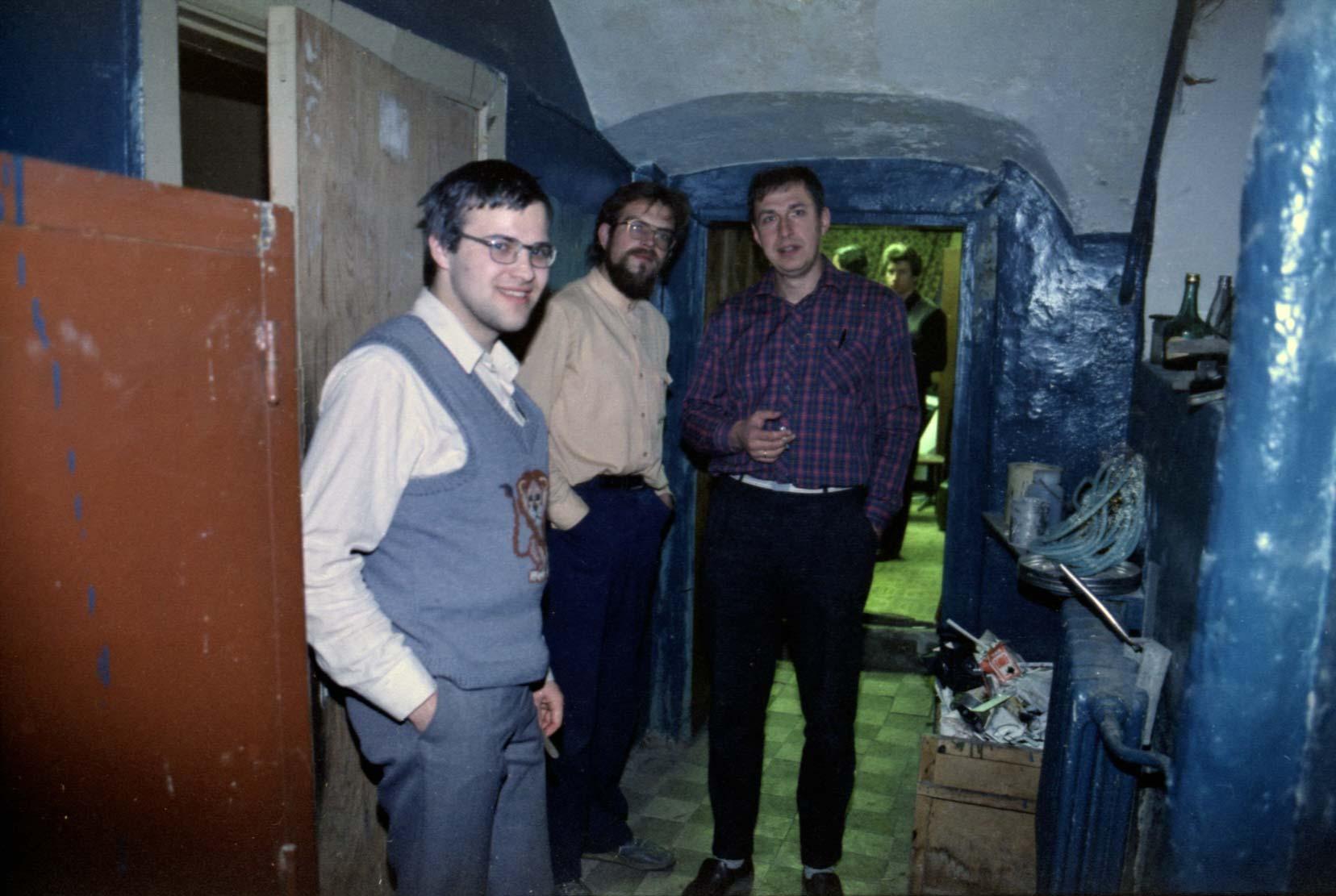 Терентьев В., Давыдов Д., Харламов Д. Мой подвал 25