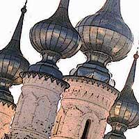 СУЗДАЛЬ-2003. Февраль 2003.Зимний пейзаж. В Суздаль большой компанией.